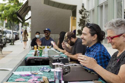 Pride Publics x Pride Poets, ONE Gallery, West Hollywood